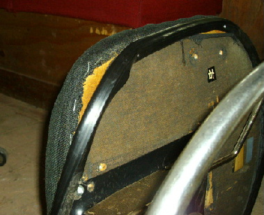 座面の修理