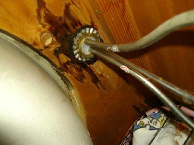 洗面台の内部